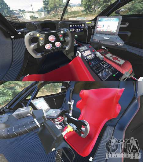 Renault Sport RS 01 2014 Police Interceptor [r] для GTA 5 вид сзади справа