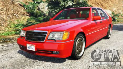 Mercedes-Benz W140 AMG orange signals [replace] для GTA 5