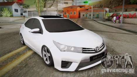 Toyota Corolla 2015 для GTA San Andreas