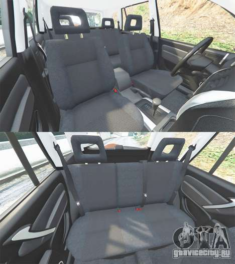 Toyota RAV4 (XA20) [add-on] для GTA 5 руль и приборная панель