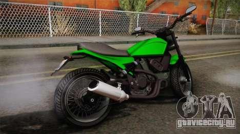 GTA 5 Pegassi Esskey IVF для GTA San Andreas вид слева