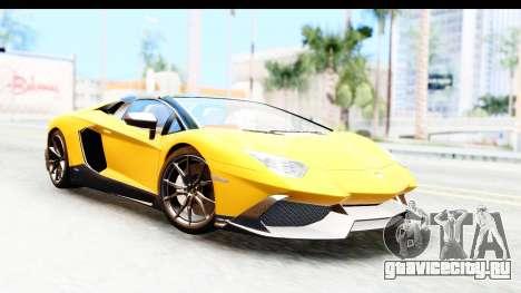 Lamborghini Aventador LP720-4 Roadster 2013 для GTA San Andreas