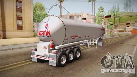 Trailer Americanos v3 для GTA San Andreas вид сзади слева