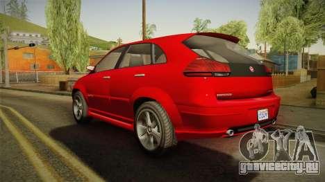 GTA 5 Emperor Habanero для GTA San Andreas вид слева