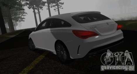 Mercedes-Benz CLA 45 AMG для GTA San Andreas вид слева