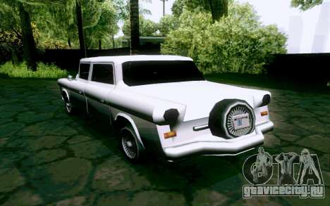 Walton Sedan для GTA San Andreas вид сзади слева
