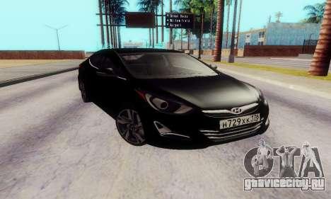 Hyundai Elantra 2015 для GTA San Andreas