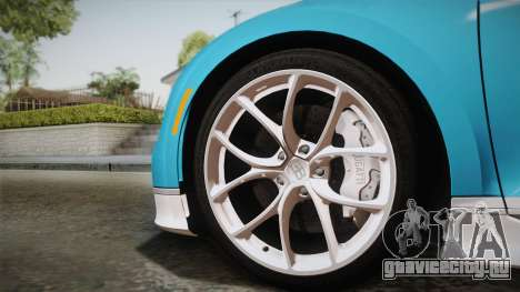 Bugatti Chiron 2017 для GTA San Andreas вид сзади слева