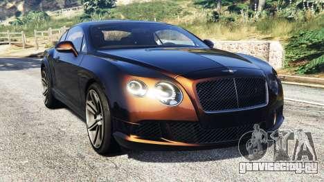 Bentley Continental GT 2012 [replace] для GTA 5