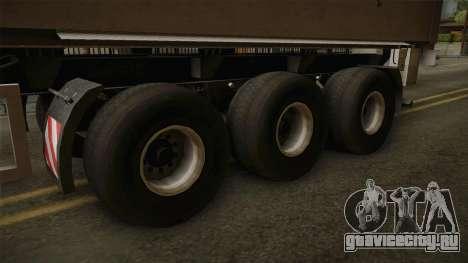 SRB35 для GTA San Andreas вид сзади