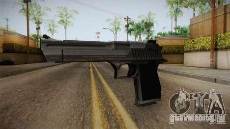 Counter Strike: Source - Desert Eagle для GTA San Andreas второй скриншот