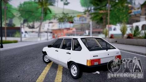ВАЗ 2109 СТОК для GTA San Andreas вид слева