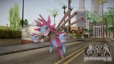 Pokémon X Y - Hydreigon для GTA San Andreas второй скриншот
