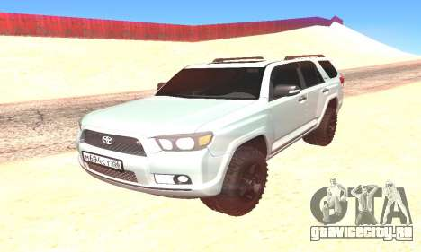 Toyota 4Runner для GTA San Andreas вид справа