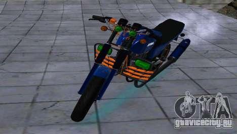 JAWA 350-638 SPORTS AMG для GTA San Andreas