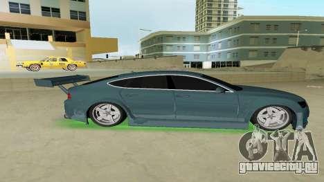 AUDI A7 SPORTS для GTA Vice City вид слева
