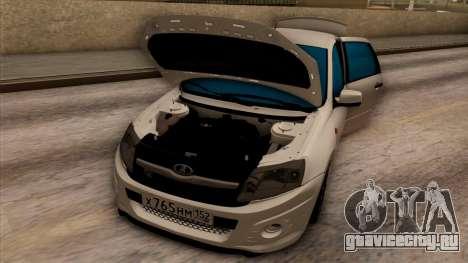 Lada Granta для GTA San Andreas вид сбоку
