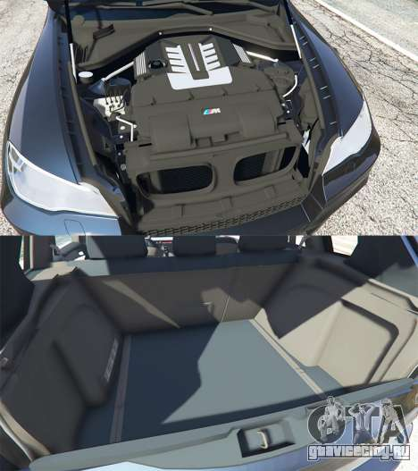 BMW X5 M (E70) 2013 v0.1 [replace] для GTA 5 вид справа