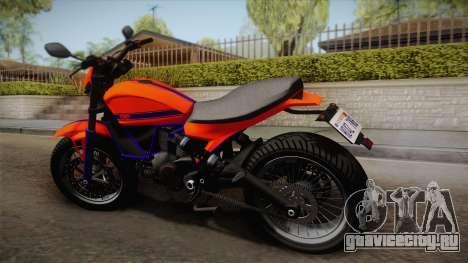 GTA 5 Pegassi Esskey PJ2 для GTA San Andreas вид слева