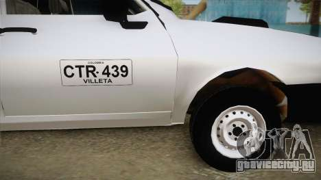 Dacia 1300 Drop Side для GTA San Andreas вид сзади слева