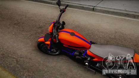 GTA 5 Pegassi Esskey PJ2 для GTA San Andreas вид сзади слева