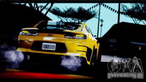 Chevrolet Camaro SS 2016 Bumblebee TF 5 для GTA San Andreas вид справа
