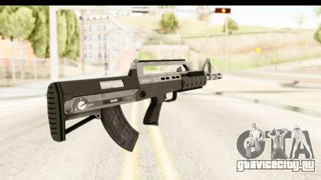 GTA 5 Hawk & Little Bullpup Rifle для GTA San Andreas второй скриншот
