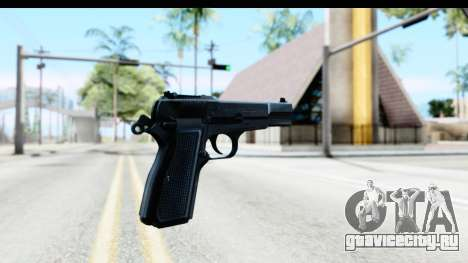 Browning Hi-Power для GTA San Andreas второй скриншот