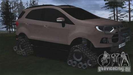 Ford Ecosport Off-Road для GTA San Andreas
