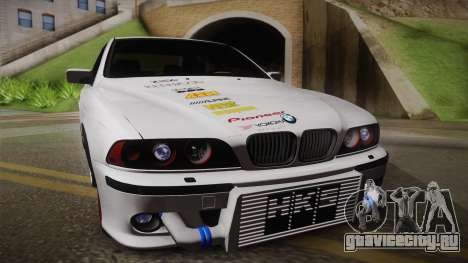 BMW M5 E39 Turbo King для GTA San Andreas вид сзади слева