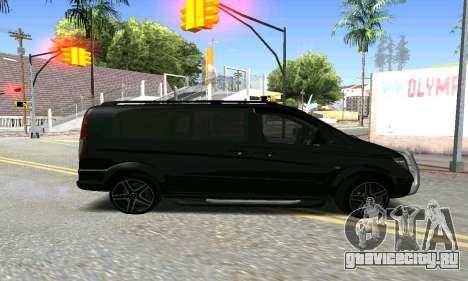 Mercedes-Benz Vito для GTA San Andreas вид слева