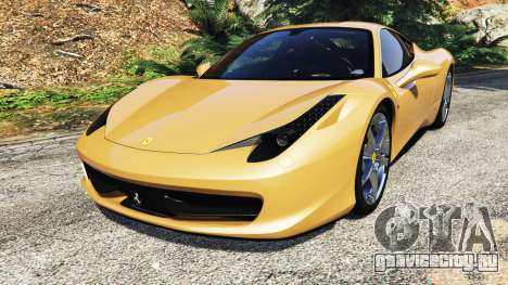 Ferrari 458 Italia [add-on] для GTA 5