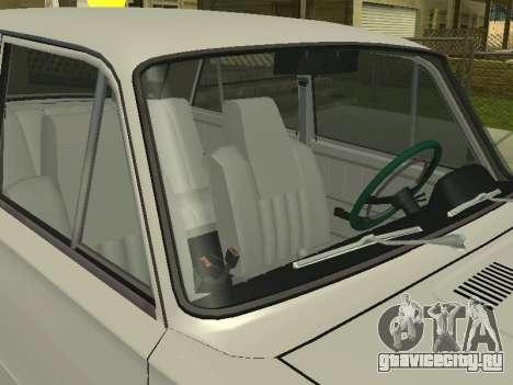 VAZ 21013 124RUSSIA 2 для GTA San Andreas вид сзади слева