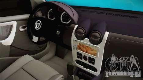 Dacia Logan Stance Haur Edition для GTA San Andreas вид сбоку