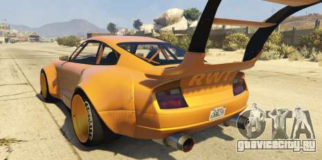 Pfister Comet Widebody для GTA 5 вид слева