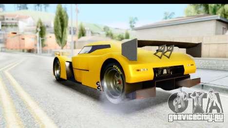 GTA 5 Annis RE-7B для GTA San Andreas вид сзади слева