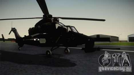 Eurocopter Tiger для GTA San Andreas вид справа