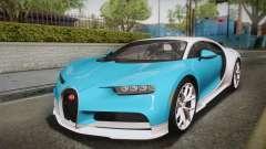 Bugatti Chiron 2017 для GTA San Andreas