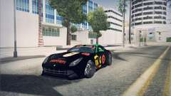 Ferrari F12 Berlinetta чёрный для GTA San Andreas