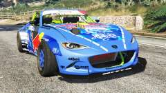 Mazda MX-5 (ND) RADBUL Mad Mike [replace] для GTA 5