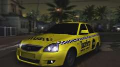 Lada Priora Такси-Ветер для GTA San Andreas