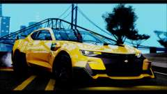 Chevrolet Camaro SS 2016 Bumblebee TF 5 для GTA San Andreas