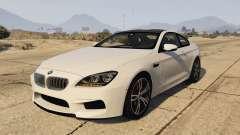BMW M6 F13 Coupe 2013 для GTA 5