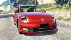 Volkswagen Beetle Turbo 2012 [replace] для GTA 5