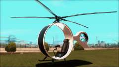 Futuristic Helicopter для GTA San Andreas