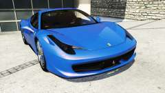 Ferrari 458 Italia v2.0 [replace] для GTA 5