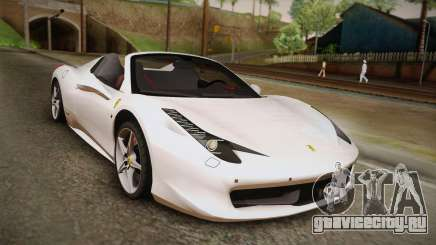 Ferrari 458 Spider для GTA San Andreas
