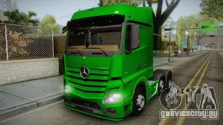 Mercedes-Benz Actros Mp4 6x2 v2.0 Bigspace для GTA San Andreas