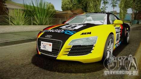 Audi R8 Coupe 4.2 FSI quattro EU-Spec 2008 YCH для GTA San Andreas колёса