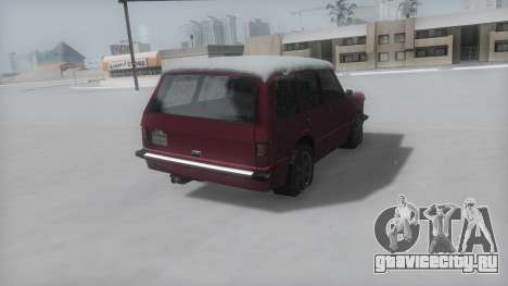 Huntley Winter IVF для GTA San Andreas вид слева